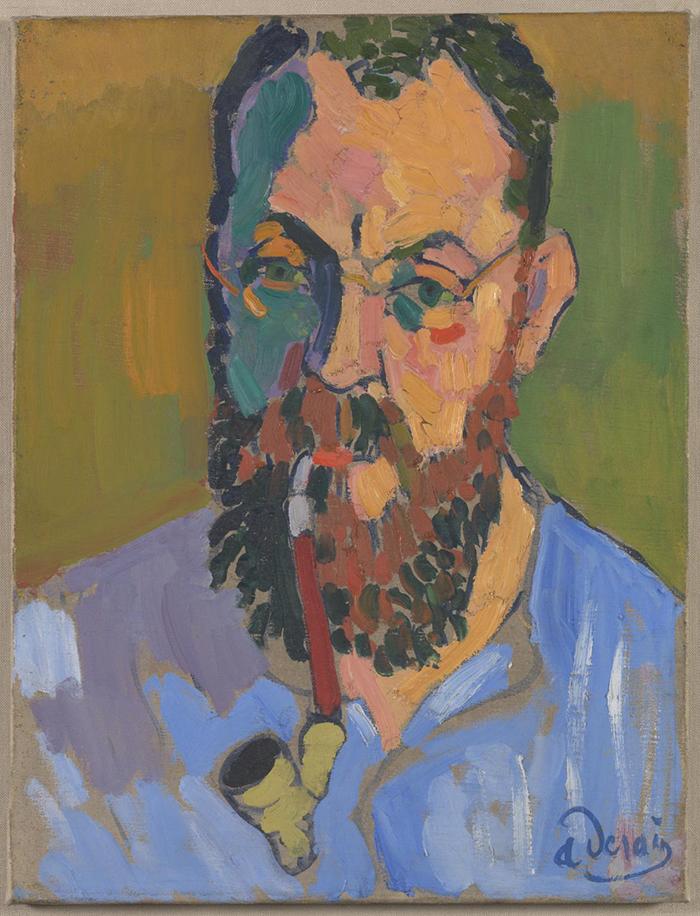 André Derain portrait of Henri Matisse