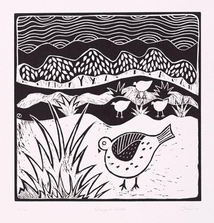 """Wonga & Chicks"" by Cheryl Davison"