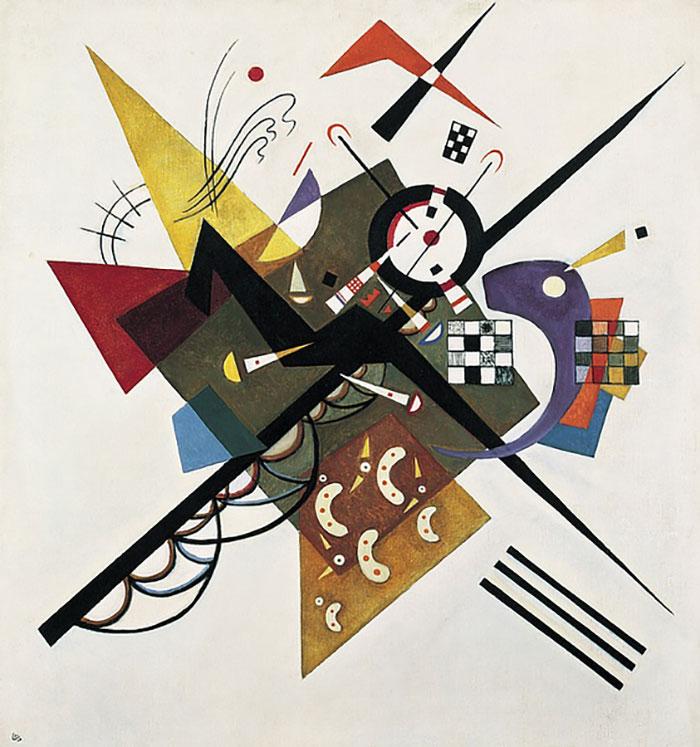 "Wassily Kandinsky's ""On White II,"